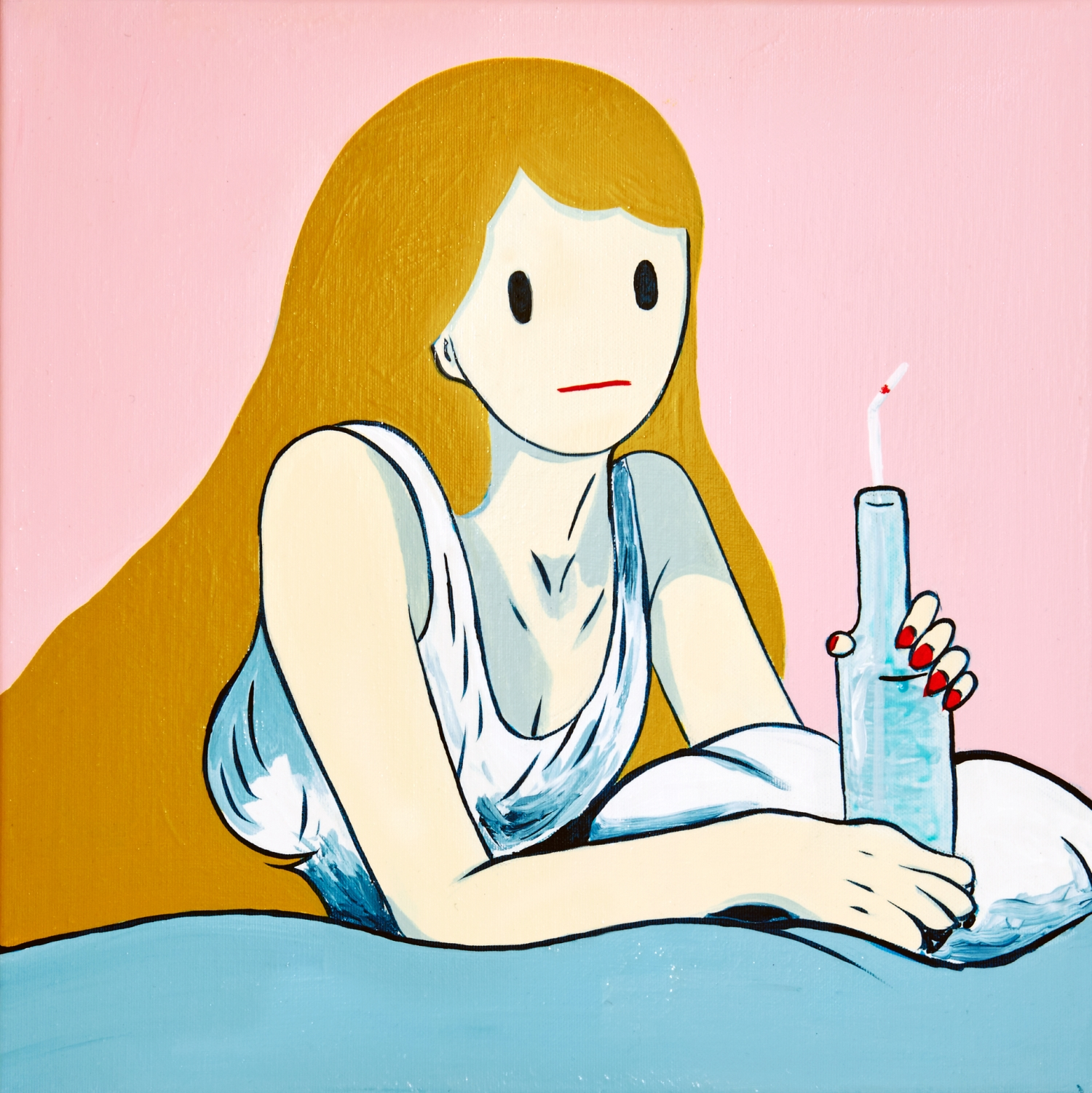 Venus with bottle